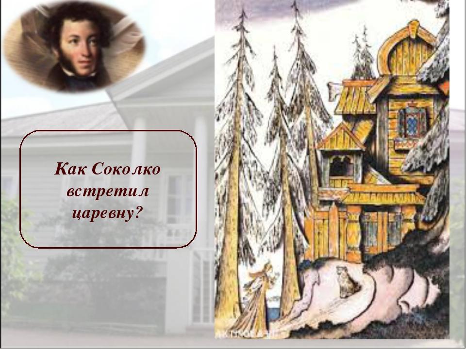 Как Соколко встретил царевну?
