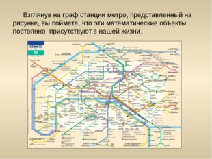 Взглянув на граф станции метро, представленный на рисунке, вы поймете, что э