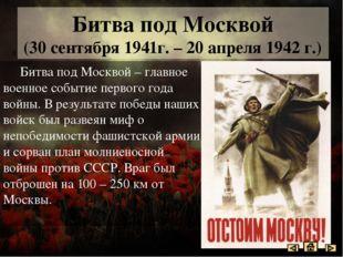 Битва под Москвой Зоя Космодемянская Виктор Талалихин Василий Клочков Имена г