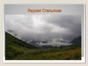 Ледник Стальнова