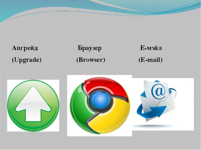 Апгрейд Браузер Е-мэйл (Upgrade) (Browser) (E-mail)