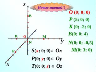 y x z O (0; 0; 0) P (5; 0; 0) I I I I I I I I I I I I I I I I I I I K (0; -2;