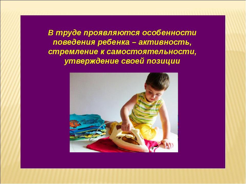Готовая курсовая работа по теме Воспитание трудолюбия у детей  Дипломная работа на тему воспитание усидчивости у детей