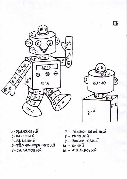 http://www.mat-raskraska.ru/images/stories/Raskraski/Tablitsa-umnozenia-delenia/Robot-umnoz-i-del-na2-i-3-raskr1_m.jpg