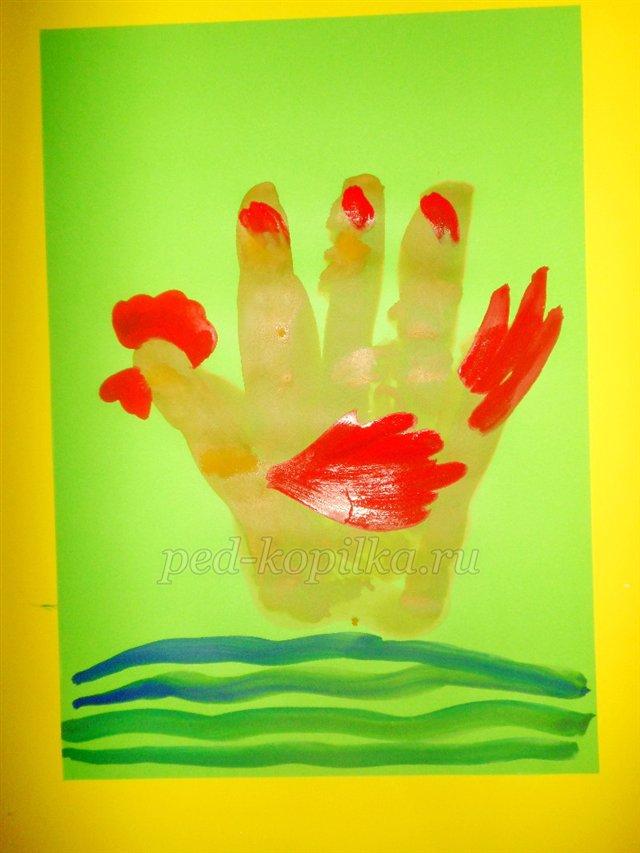 Нетрадиционные техники рисования для младших дошкольников