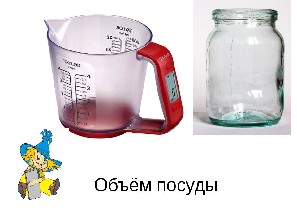 Объём посуды