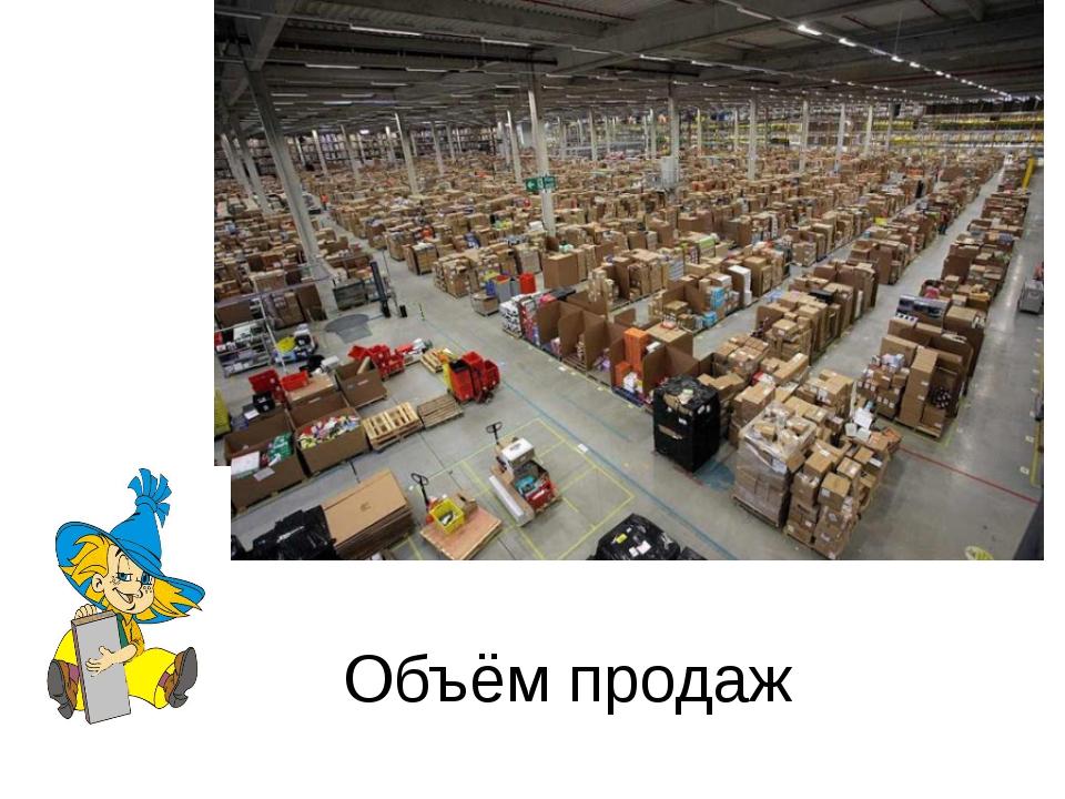 Объём продаж