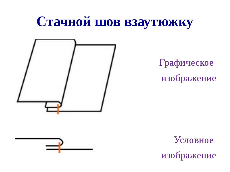 Как сделать стачной шов