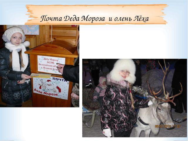 Почта Деда Мороза и олень Лёха