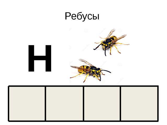 Ребусы Н