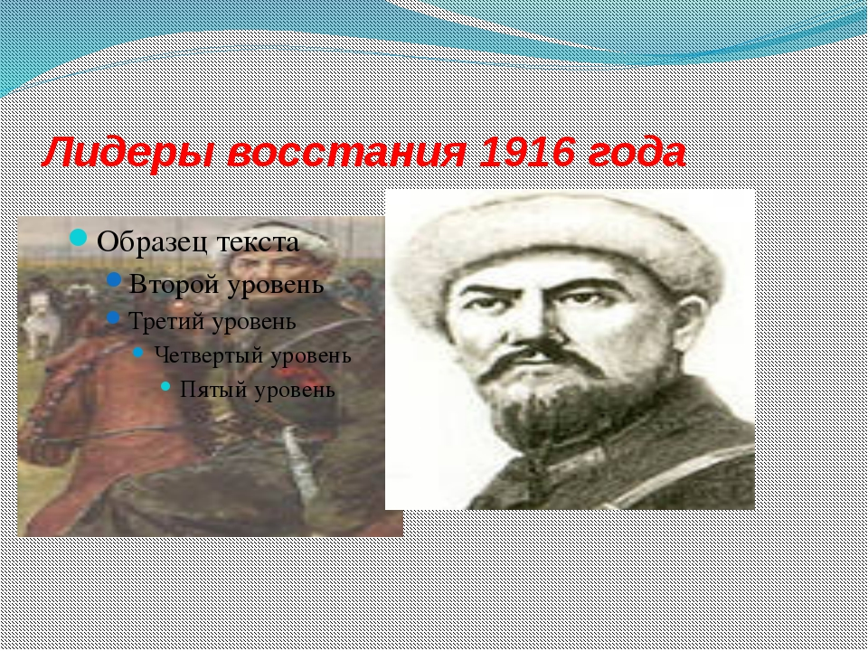 Лидеры восстания 1916 года