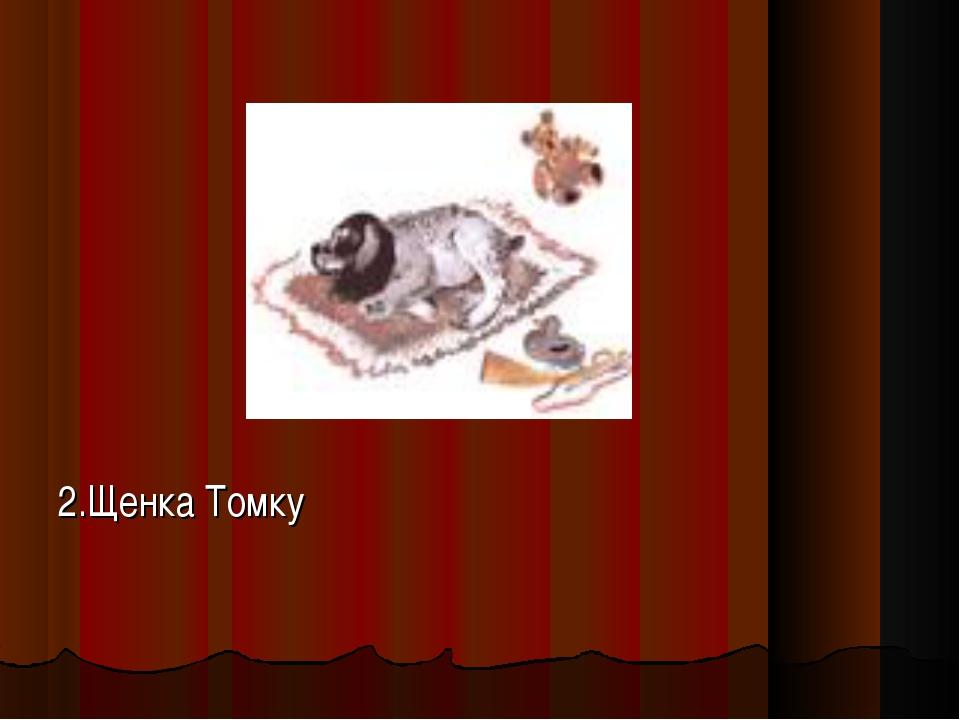 2.Щенка Томку