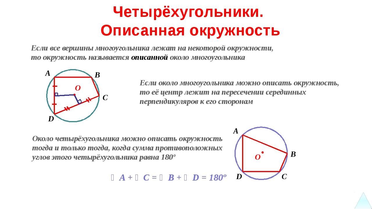 Трапеция AB = CD Равнобедренная трапеция ∠ ABC = ∠ BAD = 90º Прямоугольная тр...