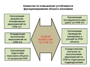 Комиссия по повышению устойчивости функционирования объекта экономики Организ