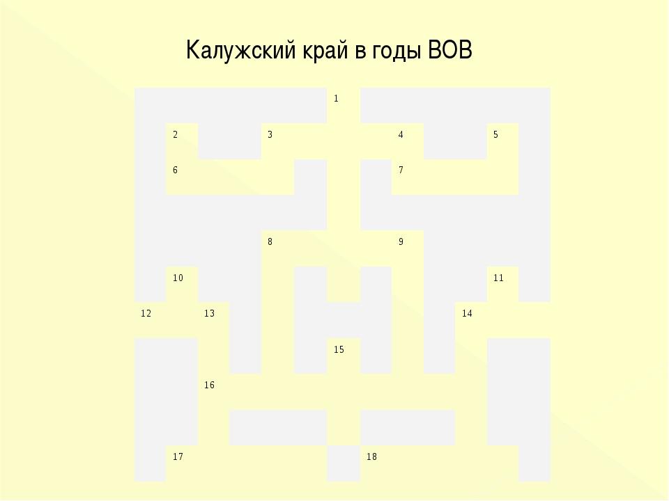 Калужский край в годы ВОВ 1 2345 67...