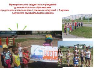 Муниципальное бюджетное учреждение дополнительного образования центр детского