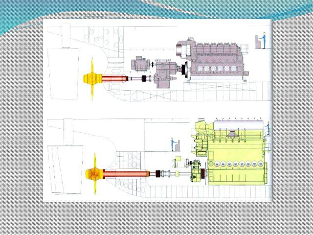 Валопровод ВРШ с МИШ встроенный в редуктор