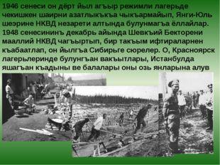 1946 сенеси он дёрт йыл агъыр режимли лагерьде чекишкен шаирни азатлыкъкъа чы