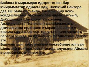 Бабасы Къырымдан иджрет эткен бир къырымтатар оджасы эди. Шевкъий Бекторе даа