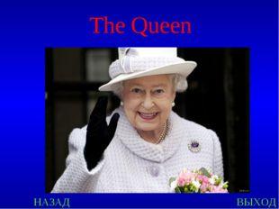 НАЗАД ВЫХОД The Queen
