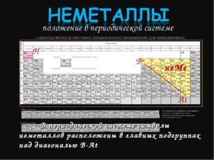 положение в периодической системе B At H неМе В периодической системе символ