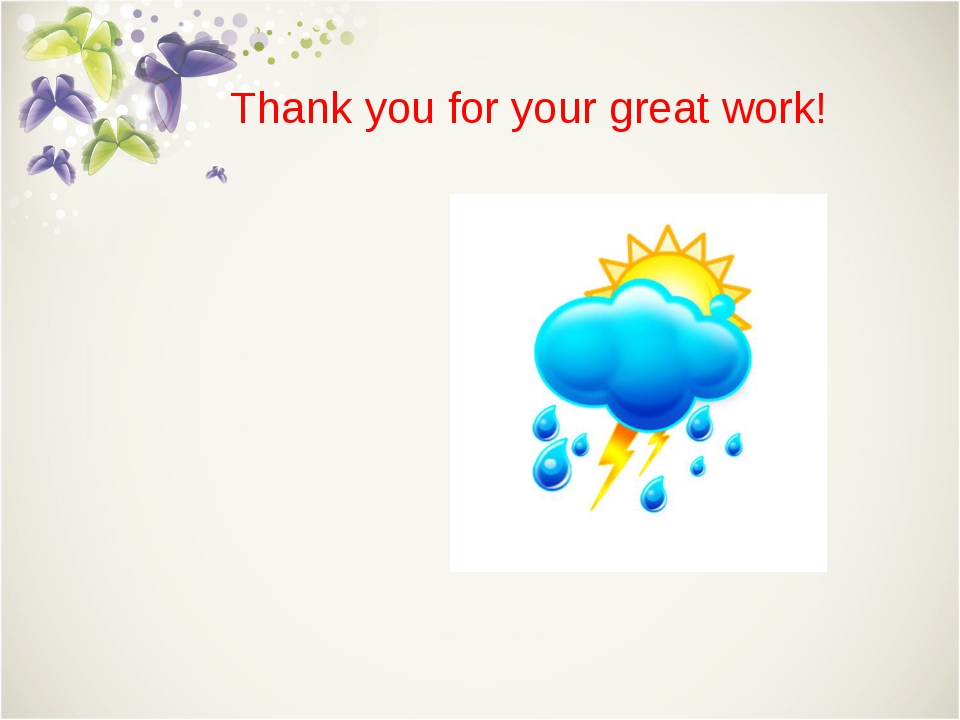 Thank you for your great work!