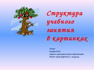 Автор:  Будник В.М.,  педагог дополнительного образования МБОУ ДОД ЦДЮТиЭ