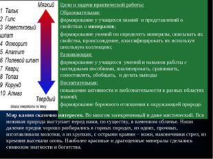 Цели и задачи практической работы: Образовательная: формирование у учащихся з