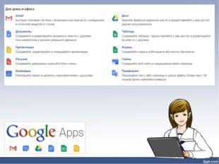Среда Google содержит множество инструментов, которые полезны для индивидуаль
