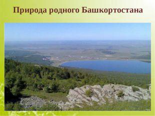 Природа родного Башкортостана