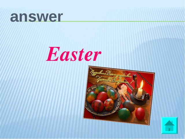 answer Easter