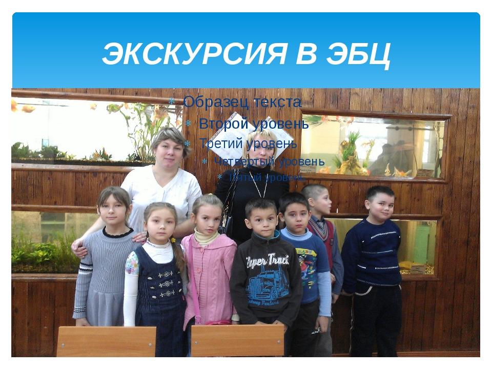 ЭКСКУРСИЯ В ЭБЦ