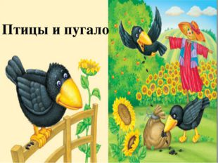 Птицы и пугало