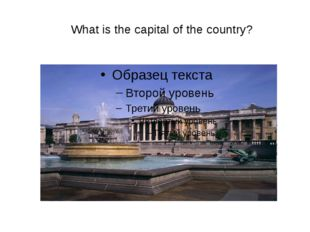 What is the capital of the country?