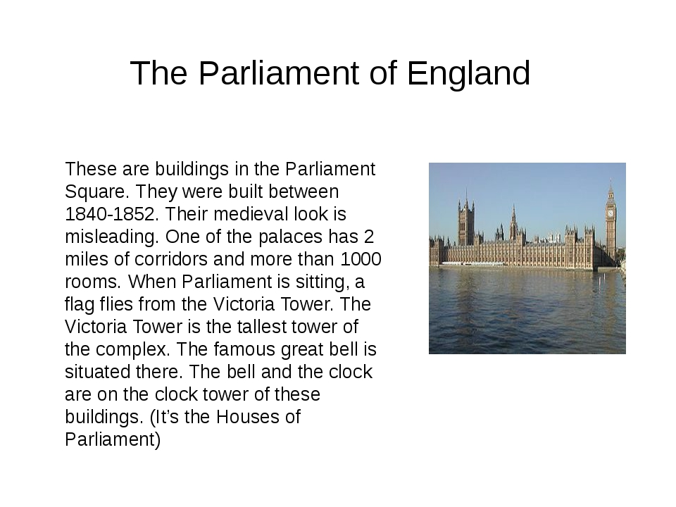 These are buildings in the Parliament Square. They were built between 1840-18...