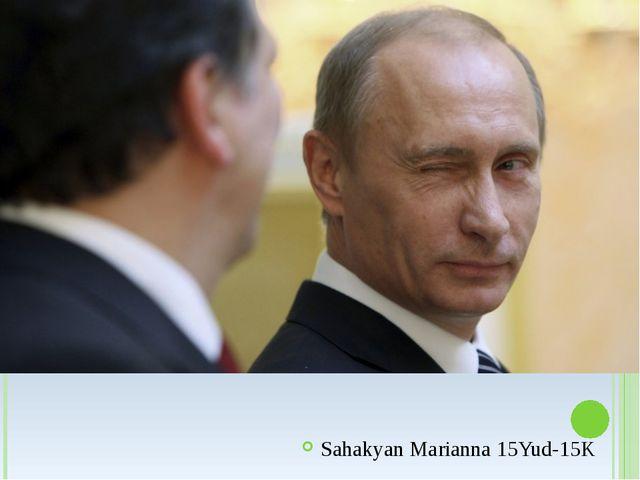 Sahakyan Marianna 15Yud-15K