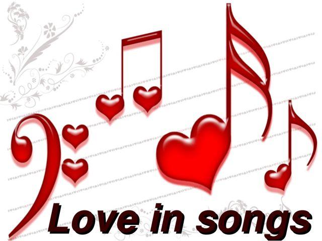 Love in songs
