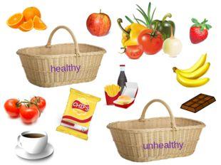 healthy unhealthy
