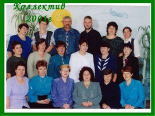Коллектив 2001г