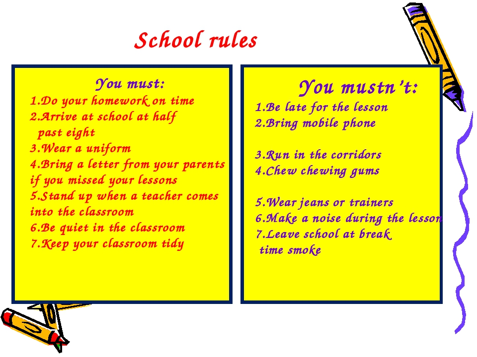 importance of school rules School rules and regulations are made not to be broken rules are made for the safety and better welfare of the students in school another is to promote good behavior among students and to maintain the good image of the school.