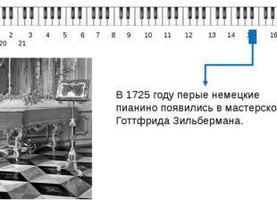 0 1 2 3 4 5 6 7 8 9 10 11 12 13 14 15 16 17 18 19 20 21 В 1725 году перые не