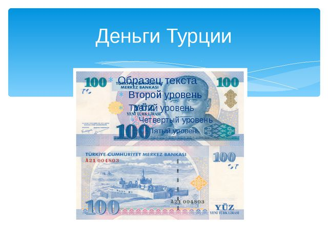 Деньги Турции