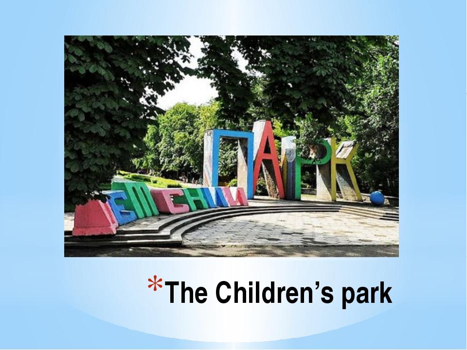 The Children's park