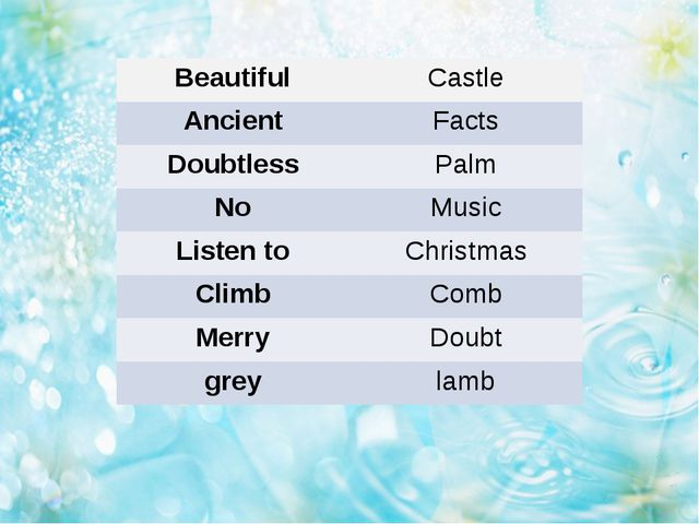 Beautiful Castle Ancient Facts Doubtless Palm No Music Listen to Christmas C...
