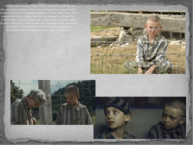 While searching for Shmuel's father, they get intertwined with a group of i...