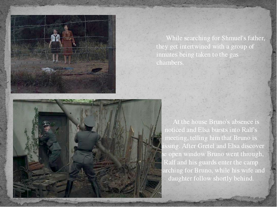 In the gas chambers, the inmates—including Bruno and Shmuel—are told to remo...