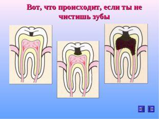 Вот, что происходит, если ты не чистишь зубы