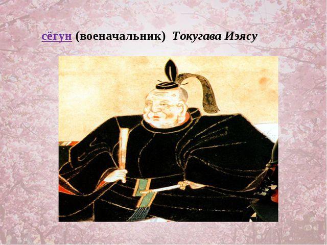 сёгун (военачальник) Токугава Иэясу