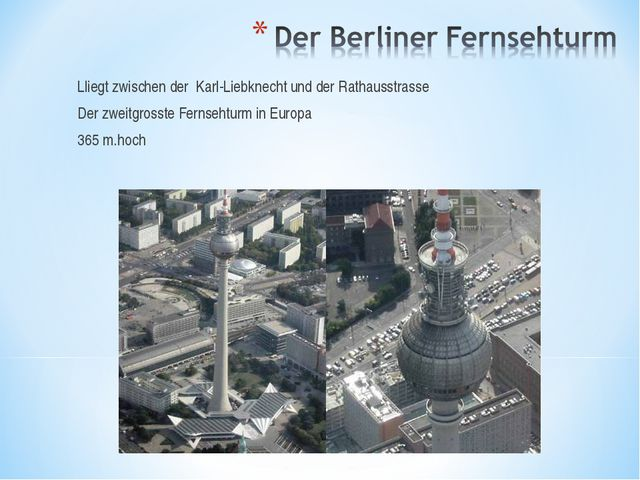 Lliegt zwischen der Karl-Liebknecht und der Rathausstrasse Der zweitgrosste F...