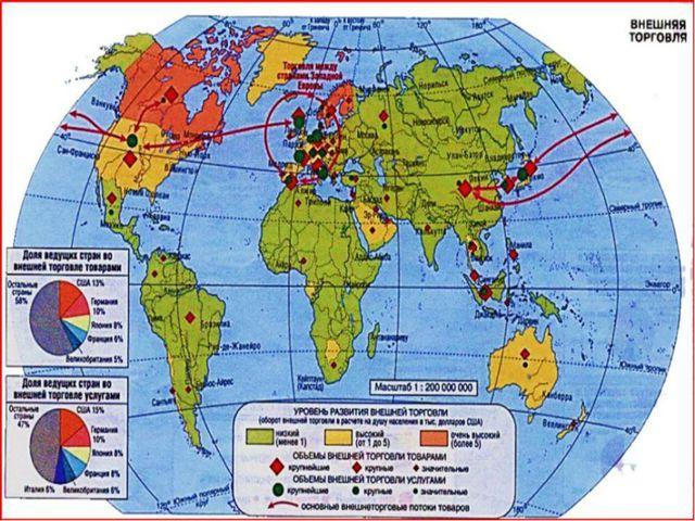 СТРАНЫ С ОТКРЫТОЙ ЭКОНОМИКОЙ активно участвуют в международных экономических...